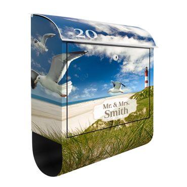 Cassetta postale personalizzata Dune Breeze 39x46x13cm