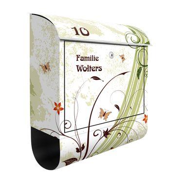 Cassetta postale personalizzata Springtide 39x46x13cm