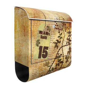 Cassetta postale personalizzata Secret Feelings 39x46x13cm