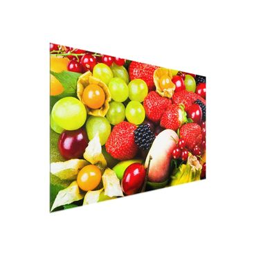 Quadro in vetro - Tropical Fruits - Orizzontale 3:2