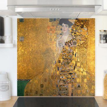 Paraschizzi in vetro - Gustav Klimt - Portrait of Adele Bloch-Bauer I - Quadrato 1:1
