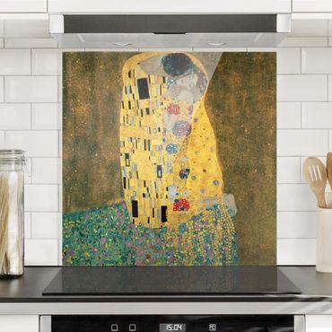 Paraschizzi in vetro - Gustav Klimt - The Kiss - Quadrato 1:1