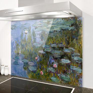 Paraschizzi in vetro - Claude Monet - Water Lilies (Nympheas) - Orizzontale 3:4