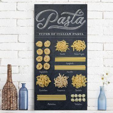 Stampa su tela - Italian pasta - Verticale 1:2