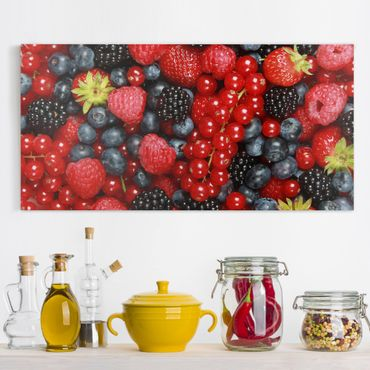 Stampa su tela - Fruity berries - Orizzontale 2:1