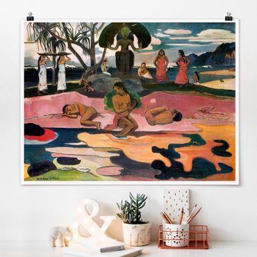 Poster - Paul Gauguin - Dio Estag - Orizzontale 3:4