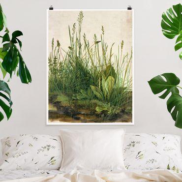 Poster - Albrecht Durer - The Great Lawn - Verticale 4:3
