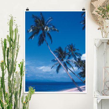 Poster - Mauritius Beach - Verticale 4:3