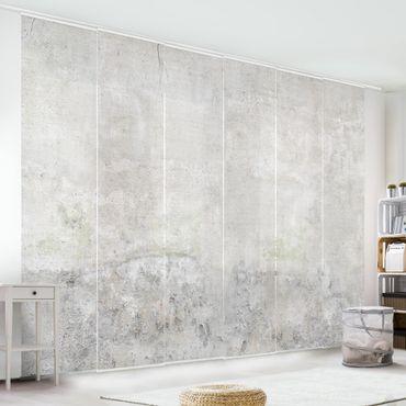 Tende scorrevoli set - Shabby Concrete Look