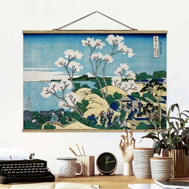 Foto su tessuto da parete con bastone - Katsushika Hokusai - La Fuji Di Gotenyama - Orizzontale 2:3