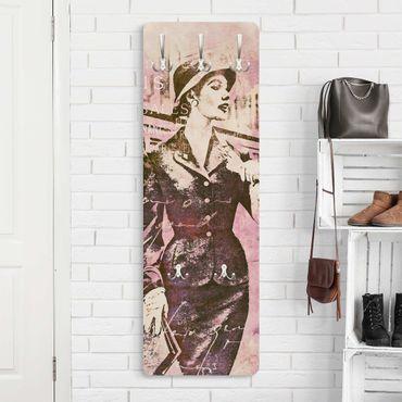 Appendiabiti - Vintage Collage - Parisienne