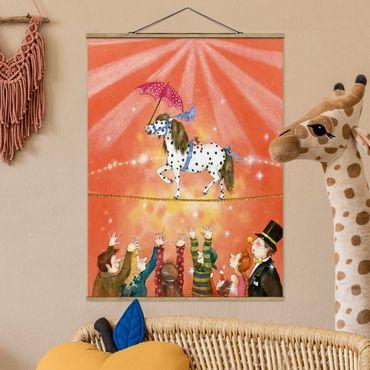 Foto su tessuto da parete con bastone - Circo Pony Micki - Verticale 4:3