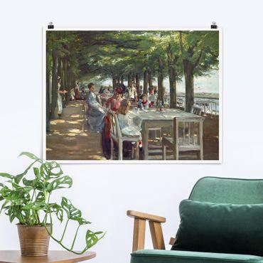 Poster - Max Liebermann - The Terrace Restaurant Jacob - Orizzontale 3:4