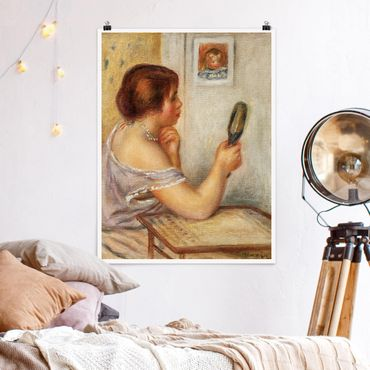 Poster - Auguste Renoir - Gabrielle Con Specchio - Verticale 4:3