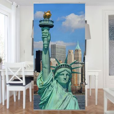 Tenda a pannello New York Skyline 250x120cm