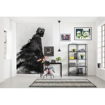 Carta da parati per bambini - Star Wars Kylo Vader Shadow - Komar fotomurale