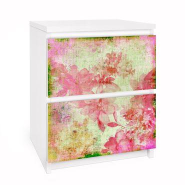 Carta adesiva per mobili IKEA - Malm Cassettiera 2xCassetti - Forgotten Beauties II