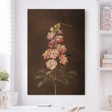 Quadri su tela - Barbara Regina Dietzsch - Un Pink Garden Levkkoje