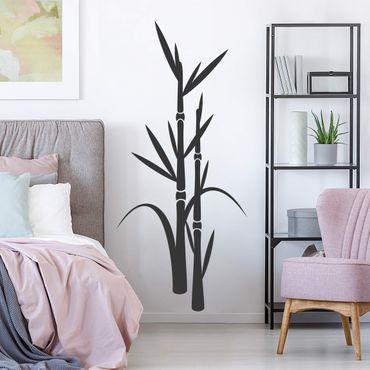 Adesivo murale - No.8 Bamboo III