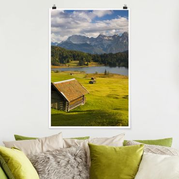 Poster - Geroldsee Alta Baviera - Verticale 3:2