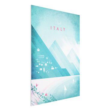 Stampa su Forex - Poster di viaggio - Italia - Verticale 4:3