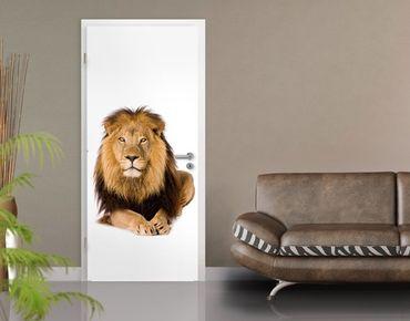 """Carta da parati per porte no.45 """"THE LION KING"""" 100x210cm"""