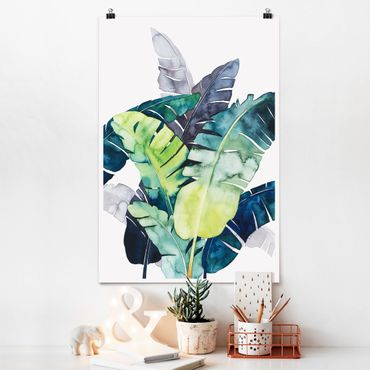 Poster - Exotic Foliage - Banana - Verticale 3:2