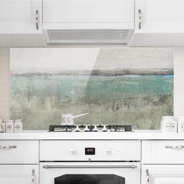 Paraschizzi in vetro - Horizon Over Turquoise I