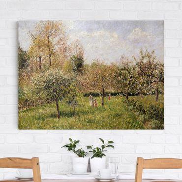 Quadri su tela - Camille Pissarro - Primavera a Eragny