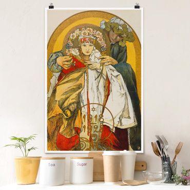 Poster - Alfons Mucha - Poster Repubblica Cecoslovacca - Verticale 3:2