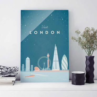 Quadro in vetro - Poster Viaggio - Londra - Verticale 3:2