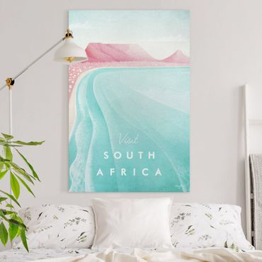 Stampa su tela - Poster Travel - Sud Africa - Verticale 3:2