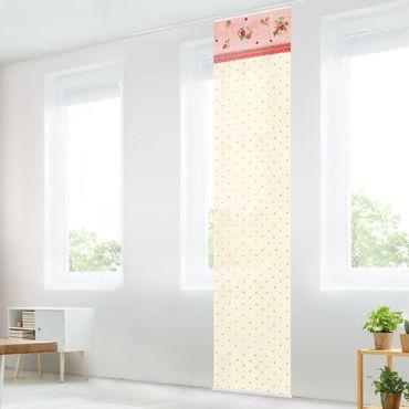 Tende scorrevoli set - The Strawberry Fairy - Strawberry Pattern