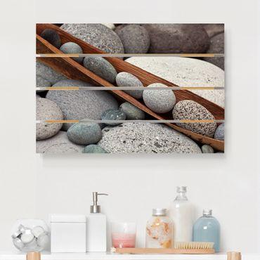 Stampa su legno - Ancora Vita Con Grey Stones - Orizzontale 2:3