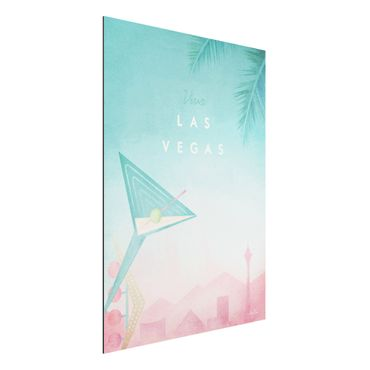 Stampa su alluminio - Poster Viaggi - Viva Las Vegas - Verticale 4:3