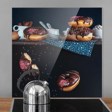 Paraschizzi in vetro - Donuts From The Top Shelf