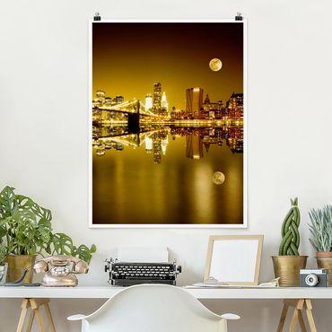 Poster - D'oro di New York - Verticale 4:3