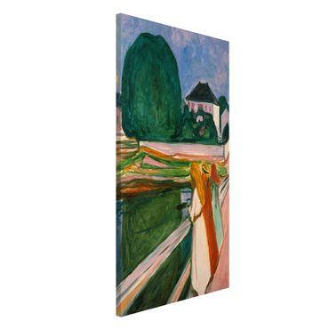 Lavagna magnetica - Edvard Munch - Notte Bianca - Formato verticale 4:3