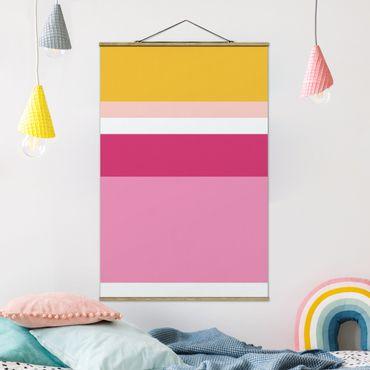 Foto su tessuto da parete con bastone - Film Poster Sleeping Beauty - Verticale 3:2
