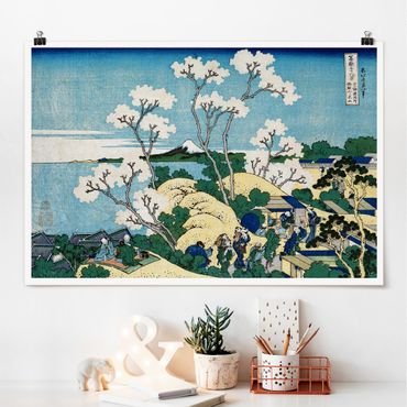 Poster - Katsushika Hokusai - La Fuji Di Gotenyama - Orizzontale 2:3