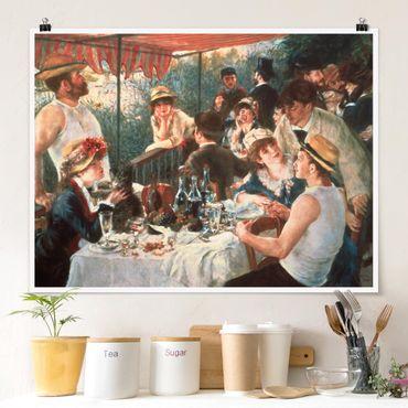 Poster - Auguste Renoir - La colazione dei canottieri - Orizzontale 3:4