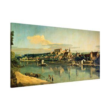 Lavagna magnetica - Bernardo Bellotto - View Of Pirna - Panorama formato orizzontale