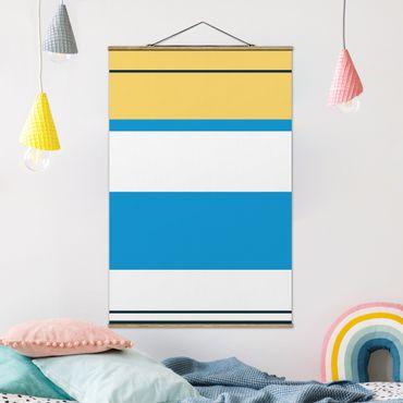 Foto su tessuto da parete con bastone - Poster di film Alice In Wonderland - Verticale 3:2