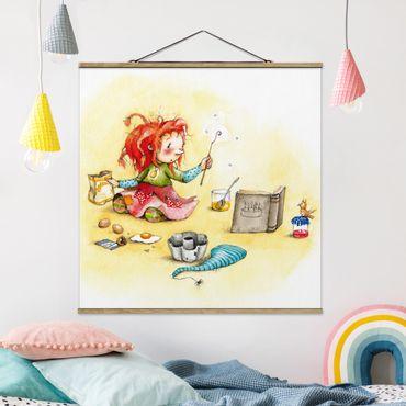 Foto su tessuto da parete con bastone - di Frida Magico Bakery - Quadrato 1:1