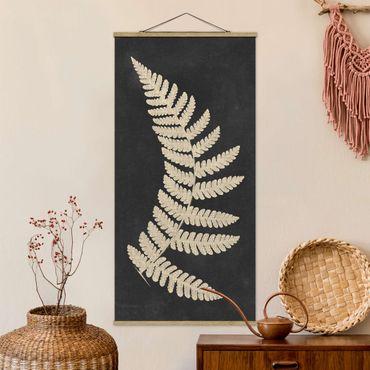 Foto su tessuto da parete con bastone - Con telecomando lino Struttura IV - Verticale 2:1