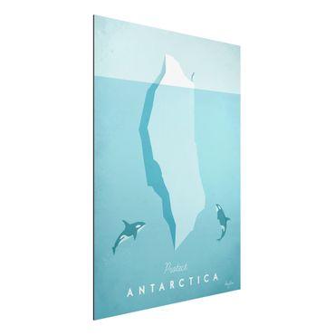 Stampa su alluminio - Poster di viaggio - Antartide - Verticale 4:3