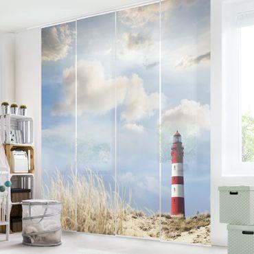 Tende scorrevoli set - Lighthouse In The Dunes