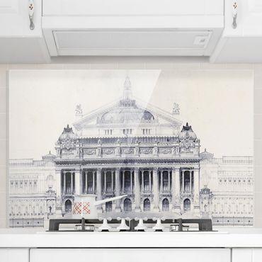 Paraschizzi in vetro - Prix De Rome Sketch II