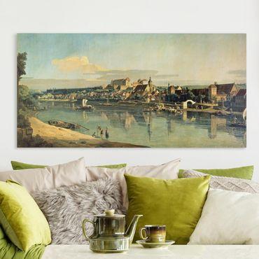 Quadri su tela - Bernardo Bellotto - View Of Pirna