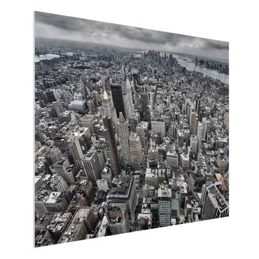 Quadro in forex - View Over Manhattan - Orizzontale 4:3